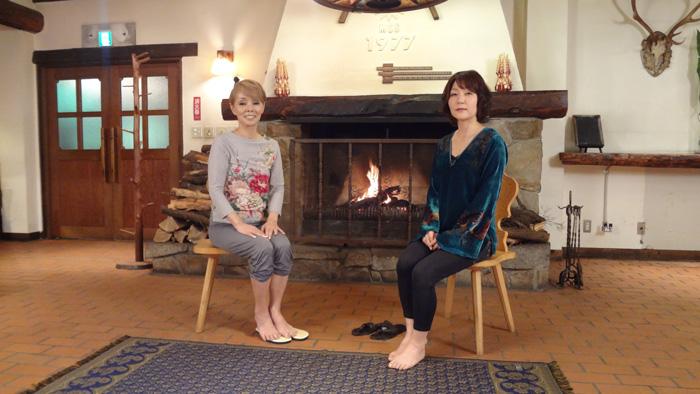 2012年 研ナオコさんと対談